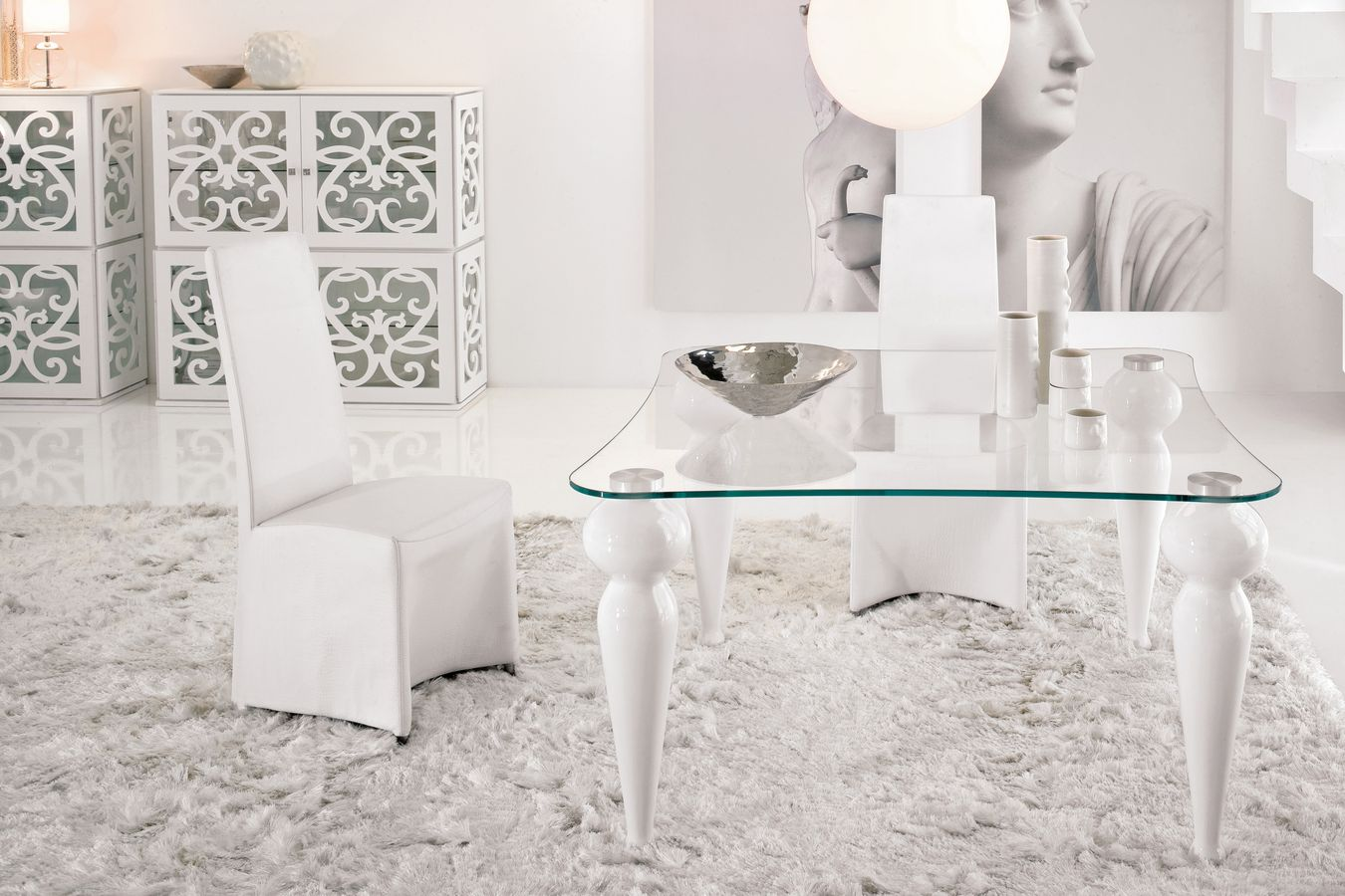 Mesas de comedor muebles epa blog - Mesas de vidrio modernas ...